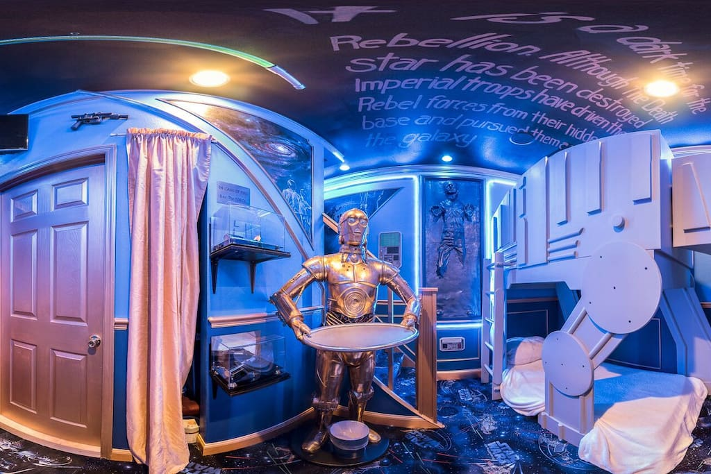 The ultimate Star Wars Tribute Bedroom
