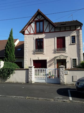 2 private bedrooms 25 mn from Paris - Conflans-Sainte-Honorine - Bed & Breakfast