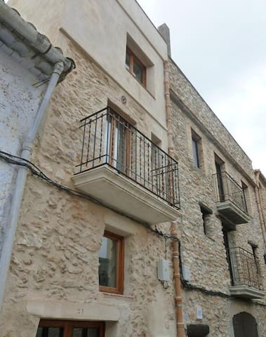 Village House with roof terrace, El Perello - El Perelló - Townhouse