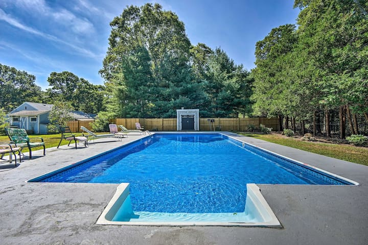 East Falmouth Home w/ Pool- Near Downtown & Beach