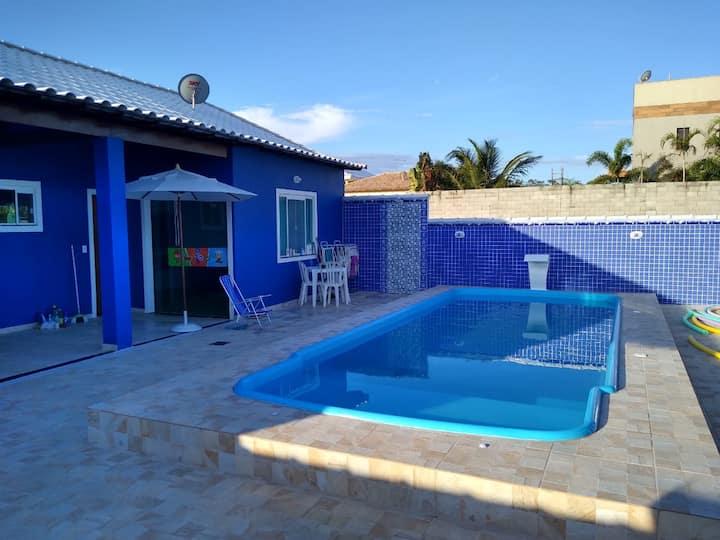 Casa com piscina em Pernambuca - Arraial do Cabo