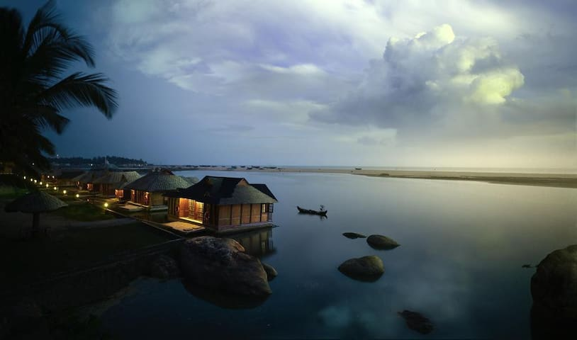 Water Villa on Poovar Island