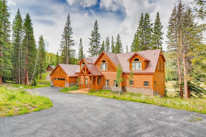Beautiful Secluded Mountain Location 7 Minutes From Breckenridge