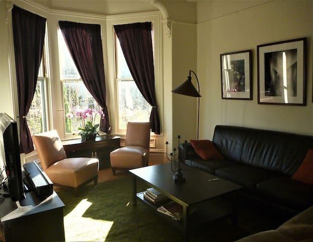 Warm Victorian Rooms in Hayes Valley