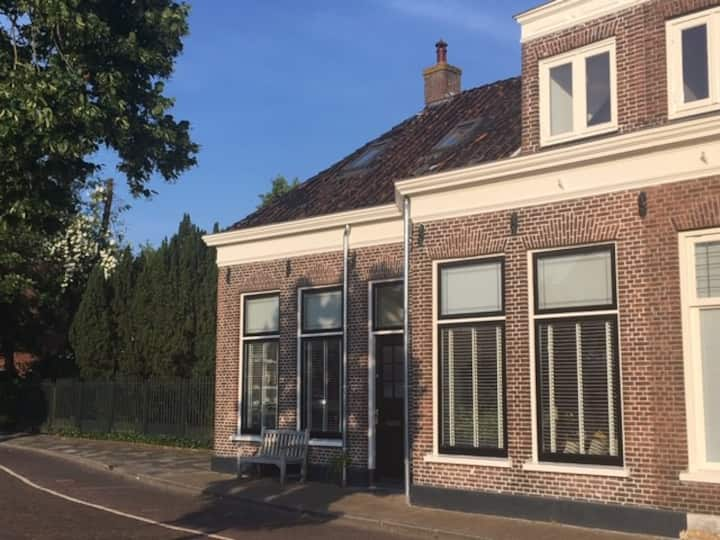 Beautiful, cosy canalhouse in Sneek city centre