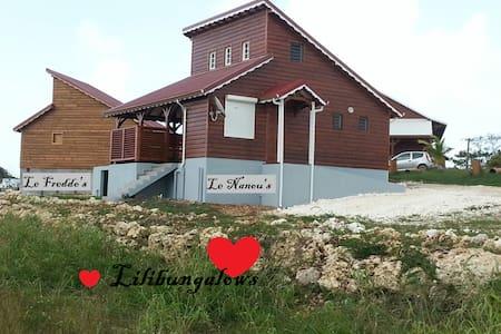 Lilibungalows: le Freddo's. - Capesterre-de-Marie-Galante - Bungalou