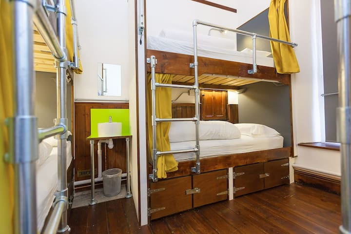 COHORT HOSTEL Bed in 8 bedroom mixed dormitory