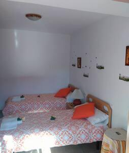 Habitación doble con vistas a la montaña. - Pitarque - Hostel