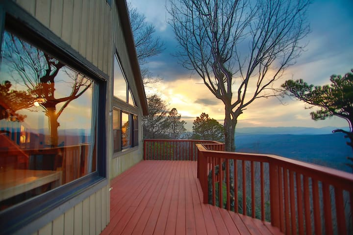 Spectacular Views from Pinnacle Mountain - Zirconia - House