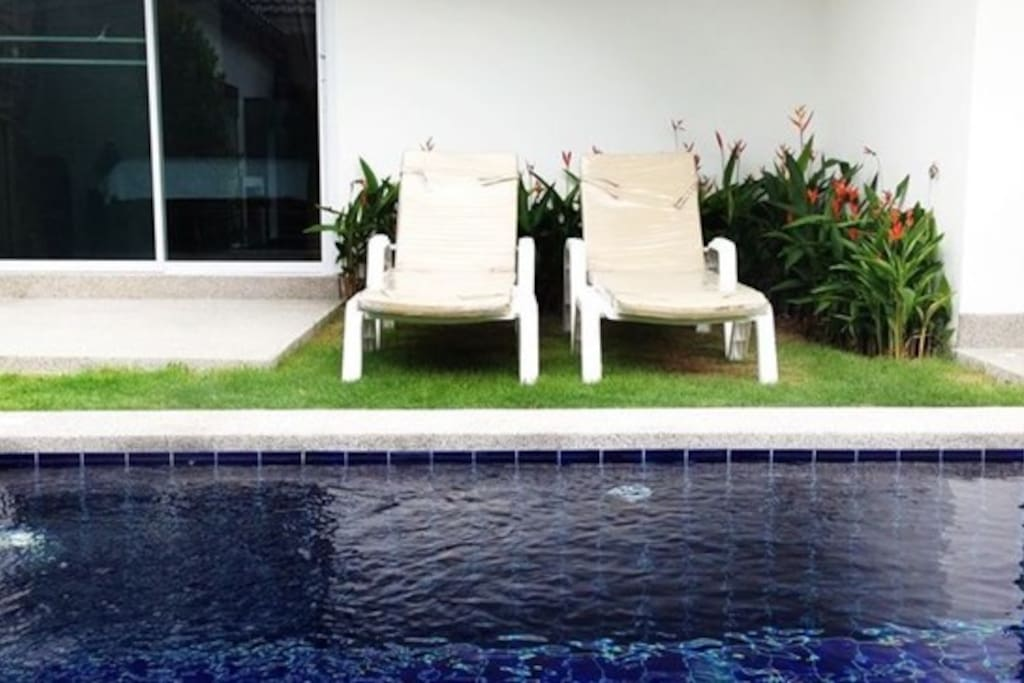 Enjoy the privacy of your own swimming pool!