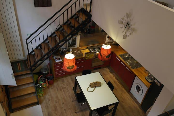 Nice Loft in a 'Ringhiera house' - Milán - Loft