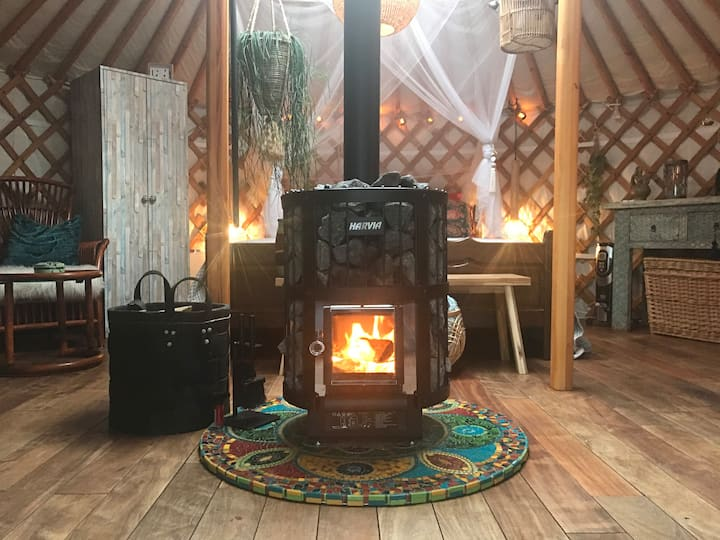 Fantastic Yurt nearby Amsterdam and Haarlem