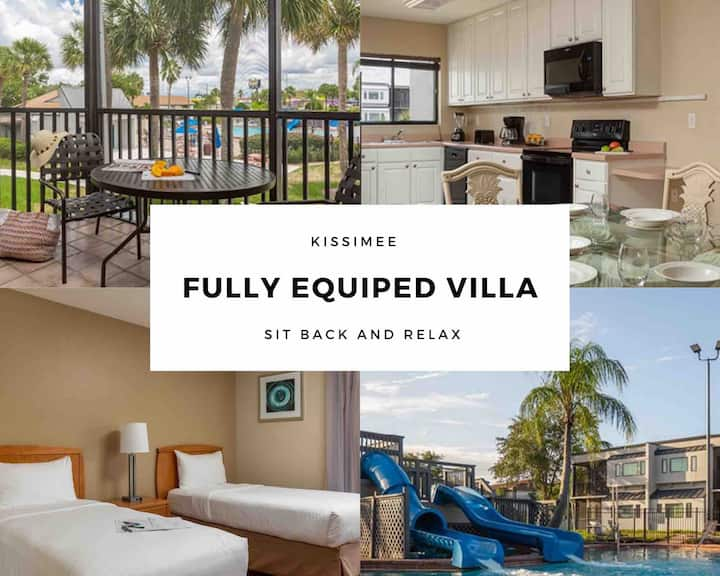 Family Size Villa, Affordable and  Close to Disney