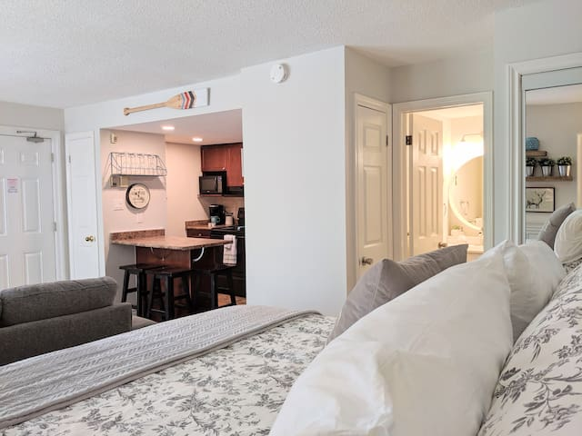 Open concept layout makes watching movies in bed or enjoying time with the family a breeze!
