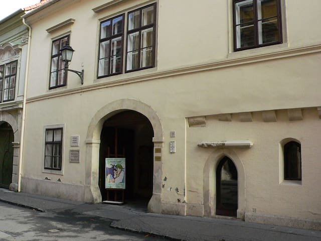 Luxury apartment in the center of Sopron