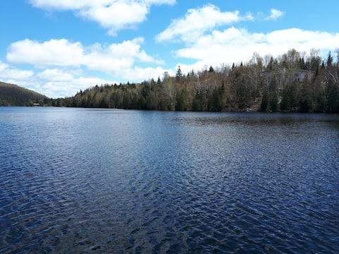 Maison du petit lac long