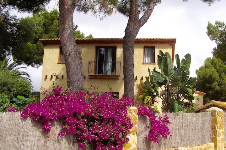 Casa Calita Granadella Views to Mountain and Sea