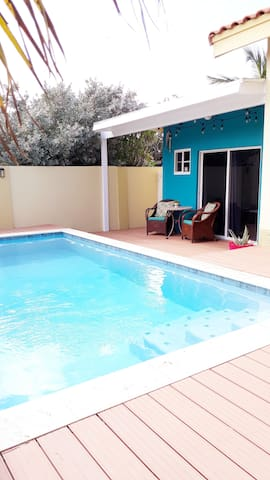 Brand new spacious 1 bedroom apartment with pool