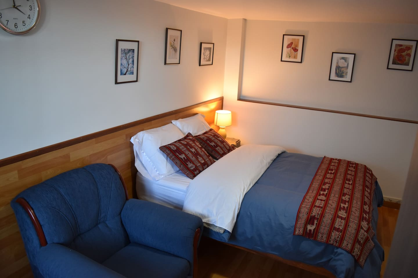 Pleasant stay in a room