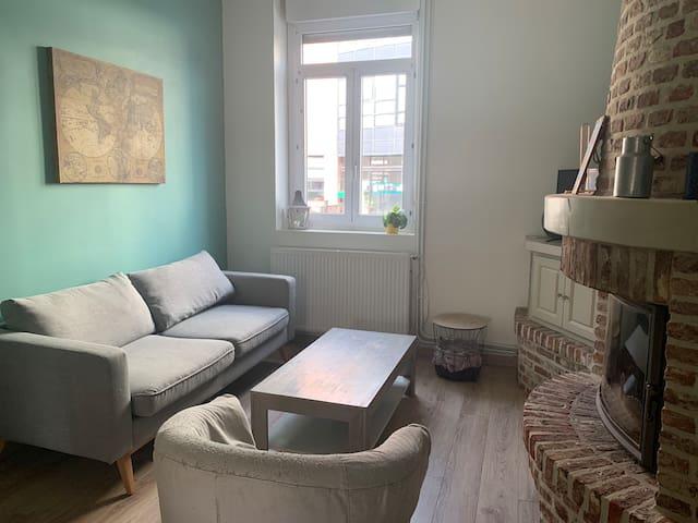 Logement spacieux proche de Lille