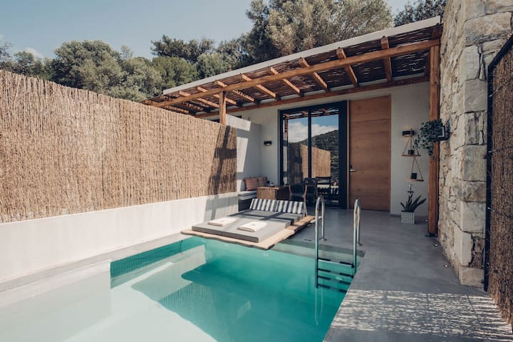 Junior  Suite with Private Pool Sougia Chania