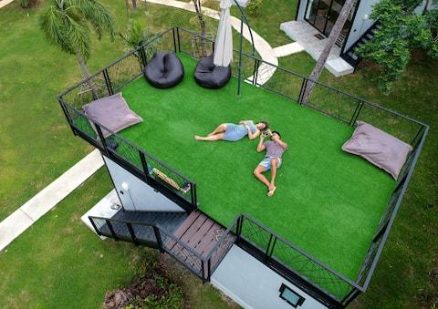 Rooftop Bungalow @ Coconut Wells Phuket (#3015)
