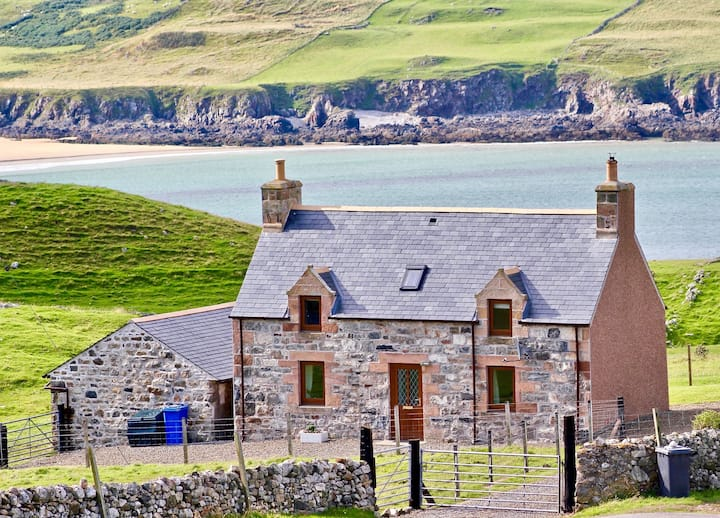 Croft House, Armadale Bay on NC500