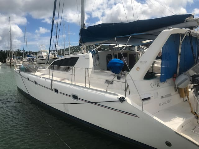 """Caribbean Paradise aboard catamaran """"Kudzikama"""" M"""