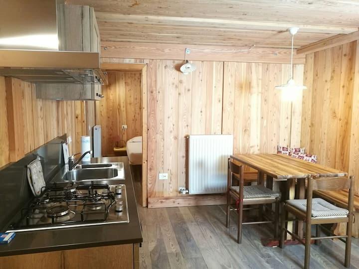Appartamento alpino nella Valle Incantata