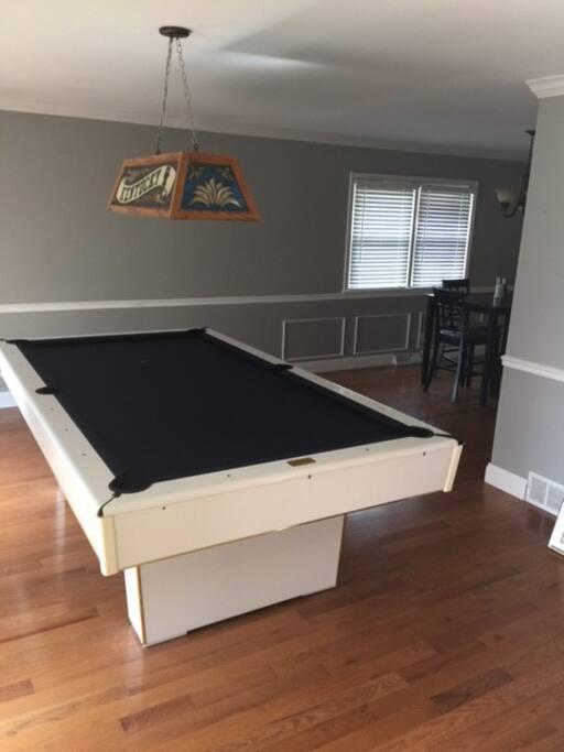 Pool Table Main Floor
