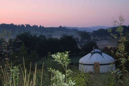 The Secret Yurts - Oak Yurt - Welshpool