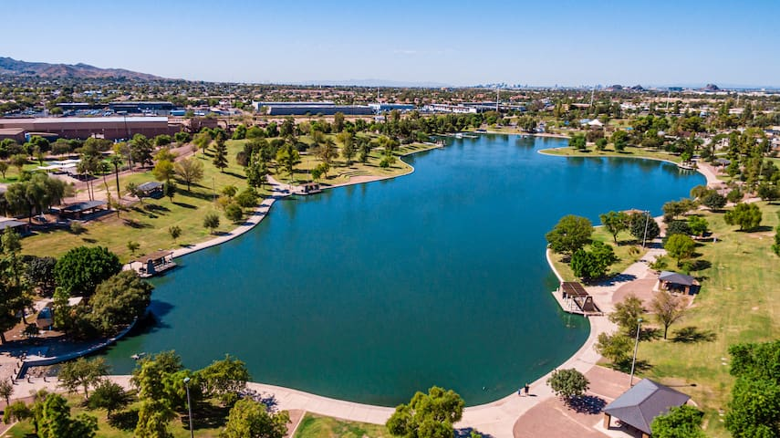 Lakeview Home Tempe! with a Private Heated Pool