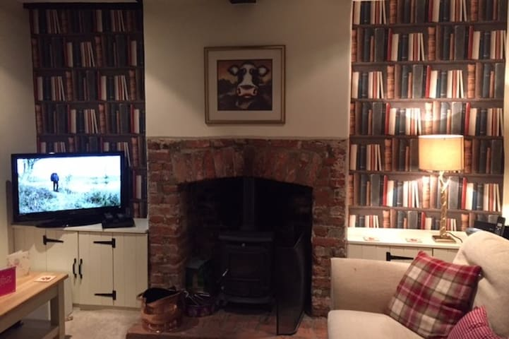 Single room in a cosy cottage, newly refurbished - Barley - Haus