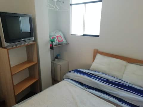 Habitación con baño propio en centro de Huancayo