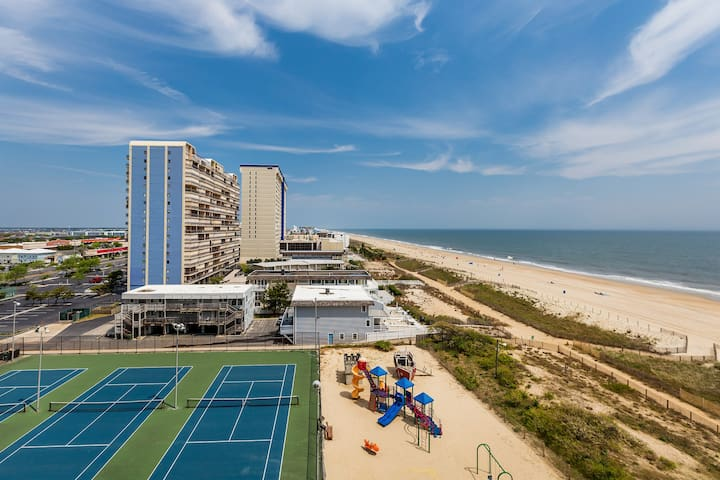 Sea Watch 702 is a gorgeous Oceanfront Condo in famous Ocean City, MD.