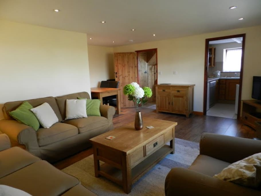 Exmoor Cottage Lounge/dining room