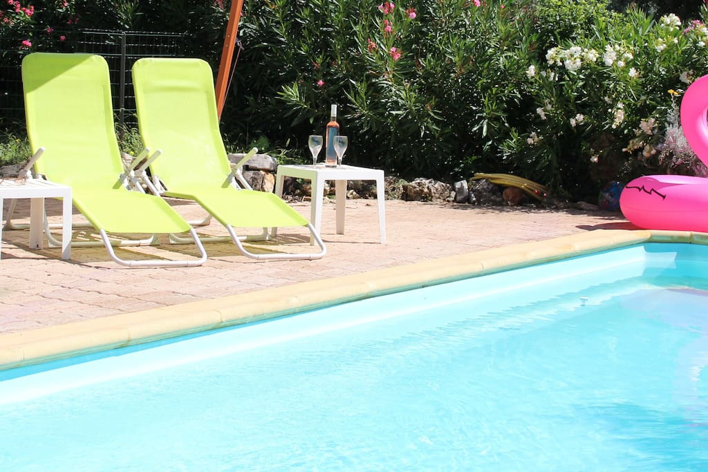 Swimming pool summer