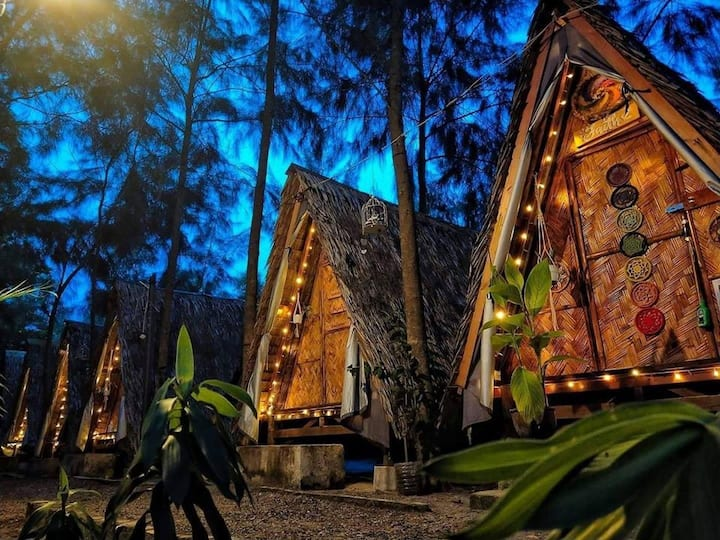 Tee Pee Hut for 2: Your Zambales Sanctuary