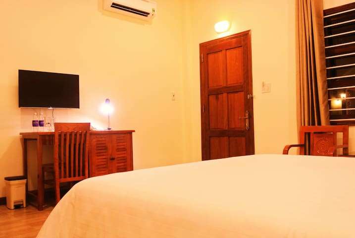 All our rooms have air conditioner, safety box and mini fridge. Wifi is available in every room and on the whole property.