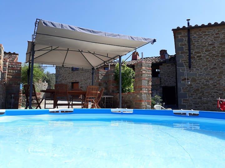 Location d'une maison typique toscane
