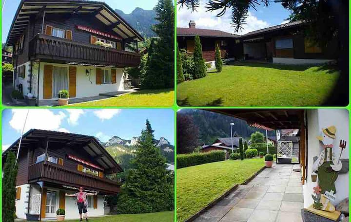 Free Spirit Chalet @ the Heart of Swiss Alps for 4