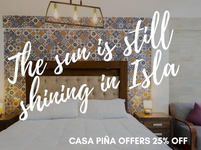 Stylish apartment great location on Isla Mujeres