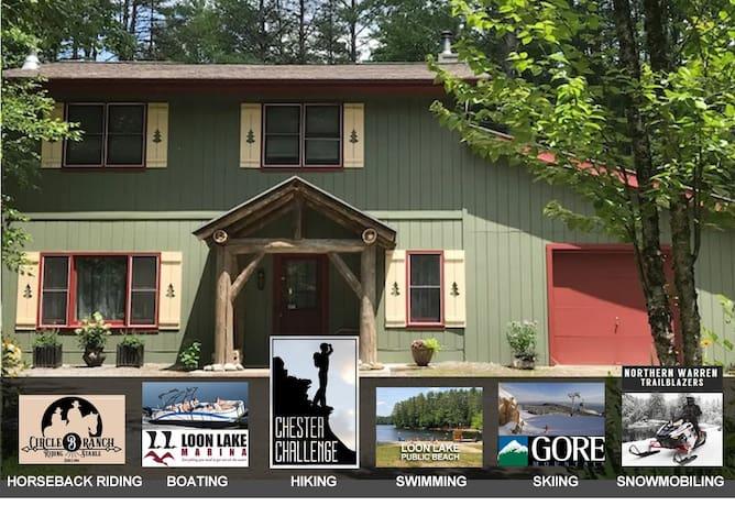 Loon Lake Creek Side Cottage