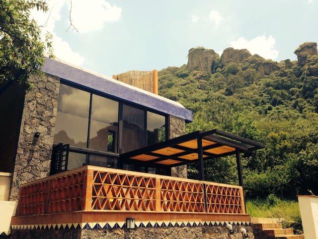 Hermosa casita en predio rústico - Amatlán de Quetzalcóatl - Huis
