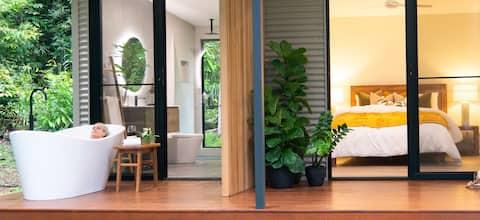 Spring Haven Kuranda - Refuge de jardin en forêt tropicale