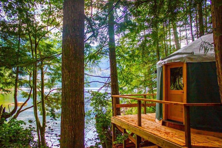 Sunshine Coast - Oceanfront Yurts