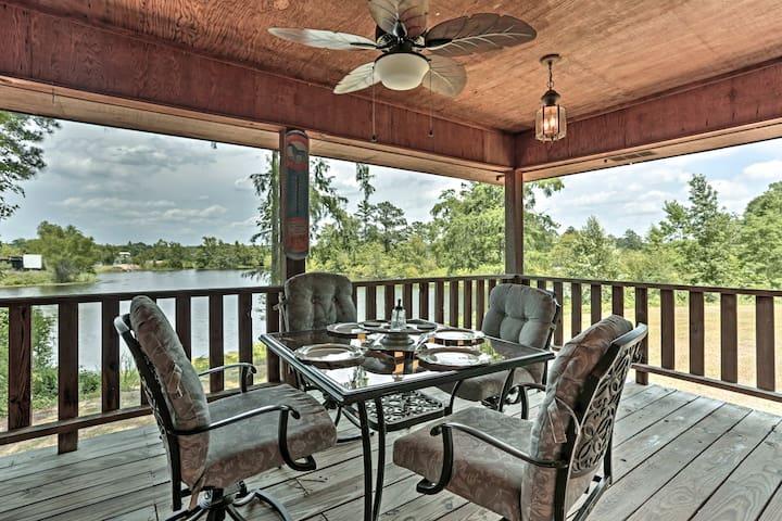 NEW-Minden Home w/Deck Overlooking Dorcheat Bayou
