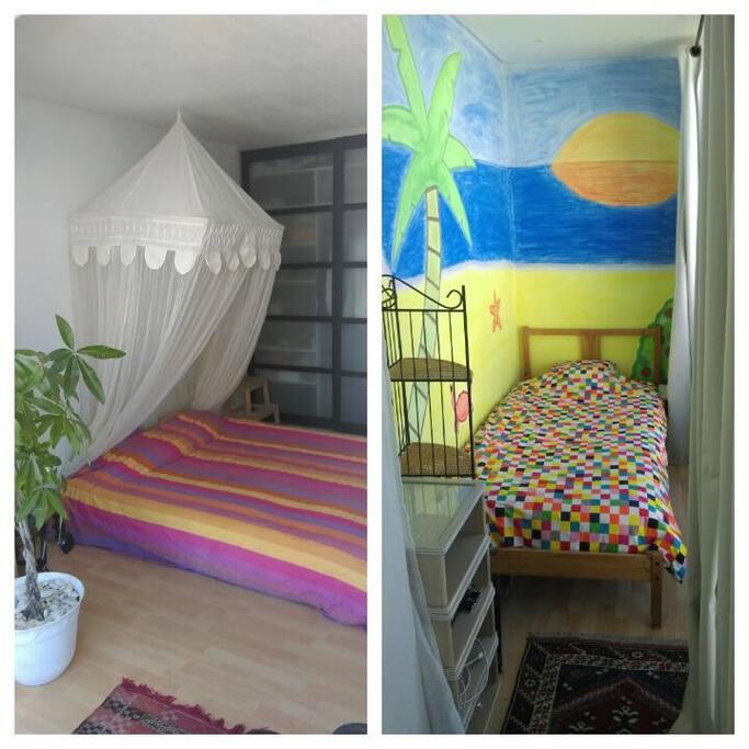 Les deux chambres