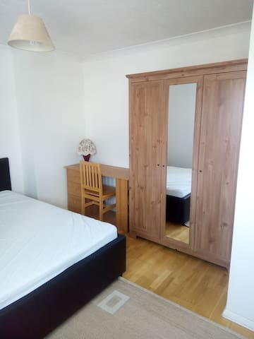 Large double bedroom in a detached house
