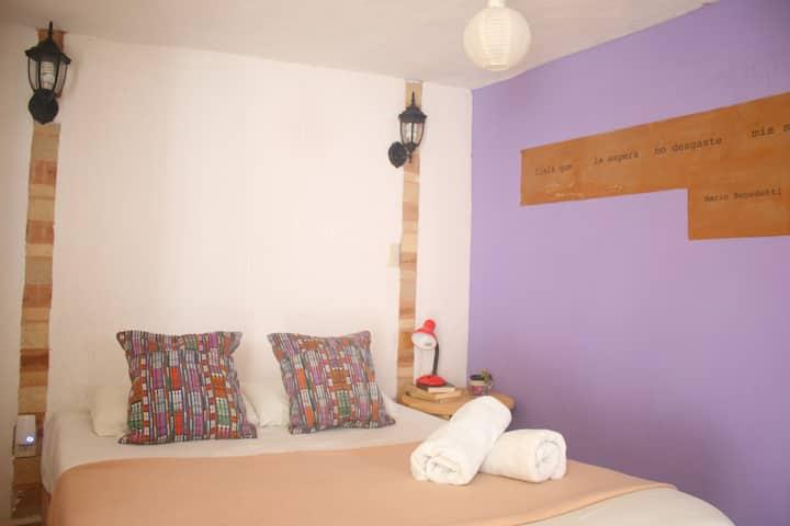 Casita de Arte: 2 habitaciones con baño y Desayuno